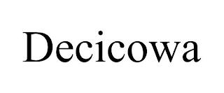 DECICOWA trademark