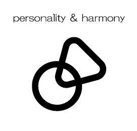 PERSONALITY & HARMONY trademark