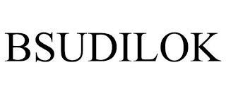 BSUDILOK trademark