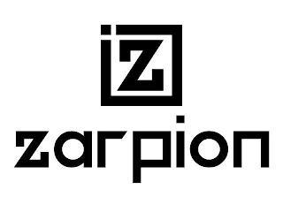 Z ZARPION trademark