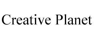 CREATIVE PLANET trademark