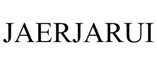 JAERJARUI trademark