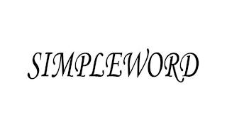SIMPLEWORD trademark