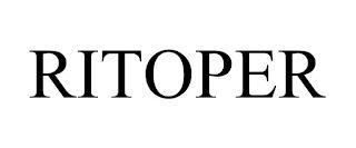 RITOPER trademark