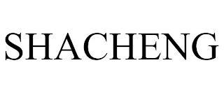 SHACHENG trademark