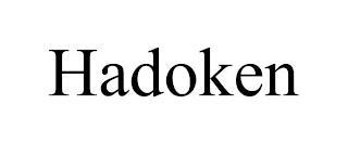 HADOKEN trademark
