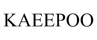 KAEEPOO trademark