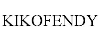 KIKOFENDY trademark