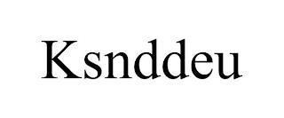 KSNDDEU trademark