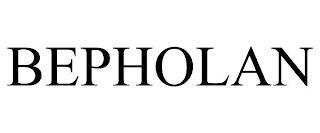 BEPHOLAN trademark