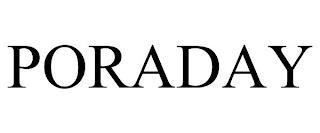 PORADAY trademark