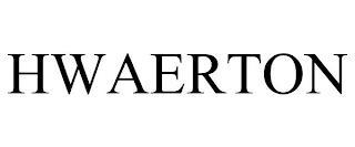 HWAERTON trademark