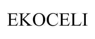 EKOCELI trademark