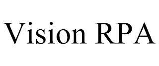 VISION RPA trademark