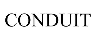 CONDUIT trademark