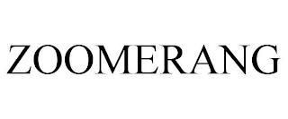 ZOOMERANG trademark