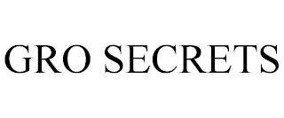GRO SECRETS trademark