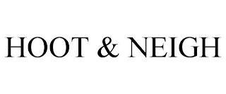 HOOT & NEIGH trademark