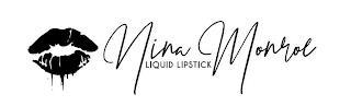 NINA MONROE LIQUID LIPSTICK trademark