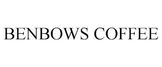 BENBOWS COFFEE trademark