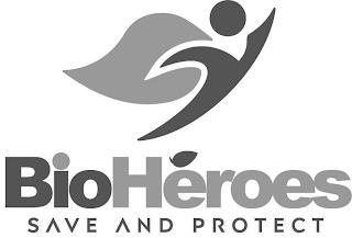 BIOHEROES SAVE AND PROTECT trademark