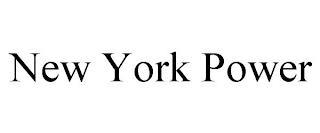 NEW YORK POWER trademark