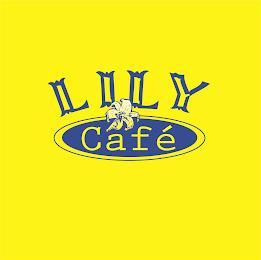 LILY CAFÉ trademark