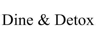 DINE & DETOX trademark