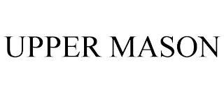 UPPER MASON trademark