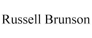 RUSSELL BRUNSON trademark