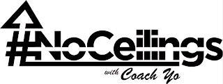 #NOCEILINGS WITH COACH YO trademark