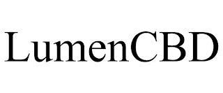 LUMEN CBD trademark