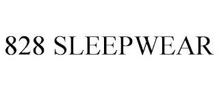 828 SLEEPWEAR trademark