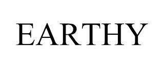 EARTHY trademark
