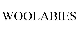 WOOLABIES trademark