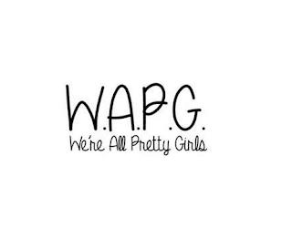 W.A.P.G. WE'RE ALL PRETTY GIRLS trademark