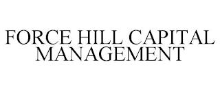 FORCE HILL CAPITAL MANAGEMENT trademark