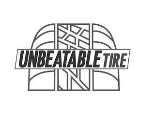 UNBEATABLE TIRE trademark