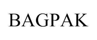 BAGPAK trademark