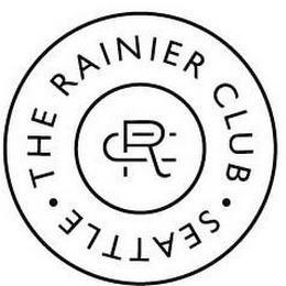 RC THE RAINIER CLUB · SEATTLE · trademark