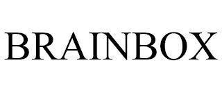 BRAINBOX trademark