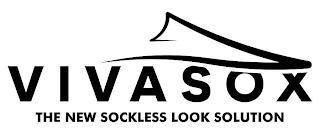 VIVASOX THE NEW SOCKLESS LOOK SOLUTION trademark