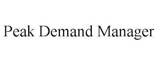 PEAK DEMAND MANAGER trademark