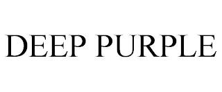 DEEP PURPLE trademark