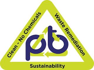 PBT CLEAN - NO CHEMICALS WASTE REMEDIATION SUSTAINABILITY trademark