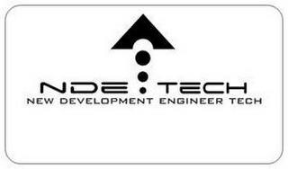 NDE TECH NEW DEVELOPMENT ENGINEER TECH trademark