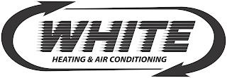 WHITE HEATING & AIR CONDITIONING trademark