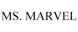 MS. MARVEL trademark
