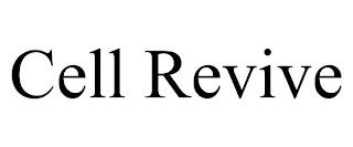 CELL REVIVE trademark
