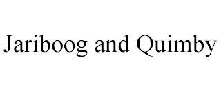 JARIBOOG AND QUIMBY trademark